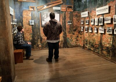 LSUHS field trip to the Holocaust Museum