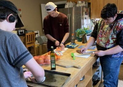LSUHS students in culinary