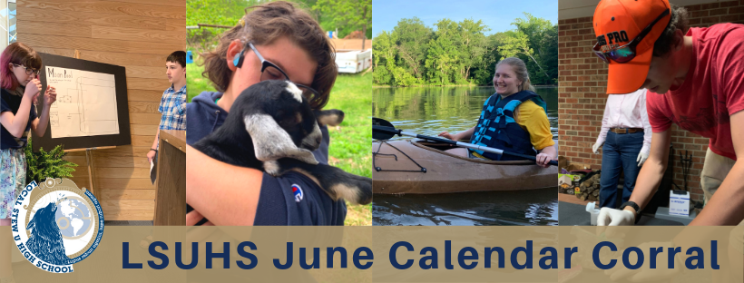 LSUHS Calendar Corral: May/June 2019