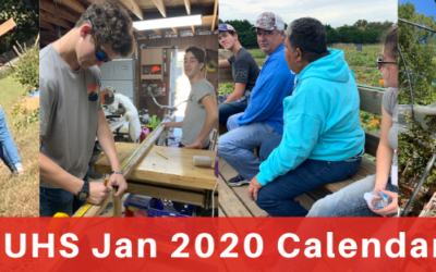 LSUHS Calendar Corral: Jan 2020